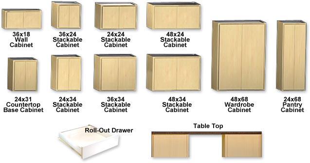 Classic Series Garage Storage Cabinets